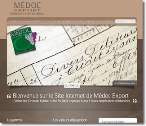 Site Médoc Export